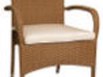 Aubry-Gaspard - fauteuil en fibre synth�tique - Fauteuil De Terrasse