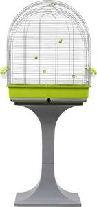 ZOLUX - cage luna verte avec pied 143.5x58.5x36cm - Cage � Oiseaux