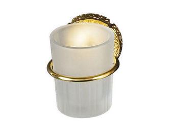 Cristal Et Bronze - millésime - Porte Verre À Dent