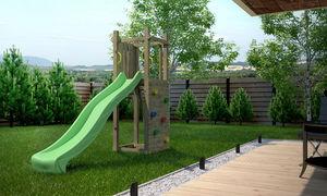 Chalet & Jardin - plateforme de jeux enfant zébulon - Portique