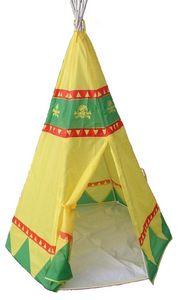 Traditional Garden Games - tente de jeu indiens intérieure extérieure 120x120 - Tente Enfant