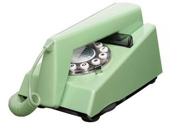 WHITE LABEL - t�l�phone trim vert su�dois - T�l�phone D�coratif