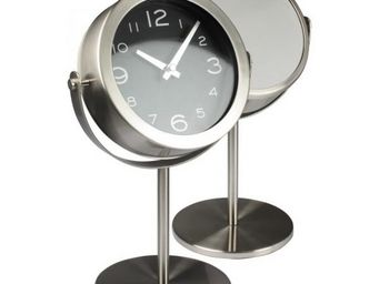 INVOTIS - horloge et miroir sur pied - Horloge � Poser