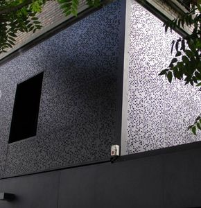 DAMPERE - tole perfor�e - Parement Mural Ext�rieur