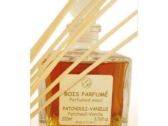 Savonnerie De Bormes - diffuseur de parfum d'intérieur patchouli vanille - Diffuseur De Parfum Par Capillarité