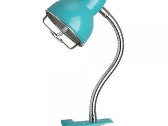 La Chaise Longue - lampe détroit clip turquoise - Lampe À Pince