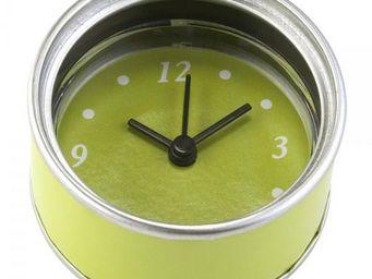 La Chaise Longue - horloge magnet verte - Magnet