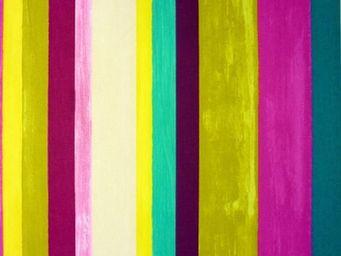 Le Quartier des Tissus - tissu imprime vegas mulberry - Tissu Imprimé