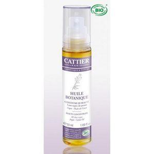CATTIER PARIS - soin anti-âge bio -concentré de beauté huile botan - Huile De Soin