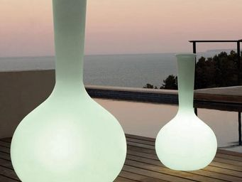 VONDOM - vase vondom chemistubes flask, led rgb - Pot Lumineux