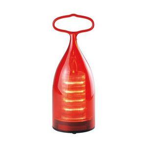 La Chaise Longue - lanterne à accrocher rouge - Lanterne D'extérieur