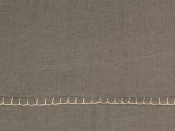 BLANC D'IVOIRE - julia gris - Plaid