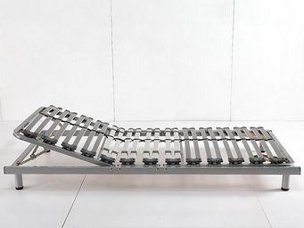 BELIANI - 90 x 200cm - Sommier De Relaxation Manuel