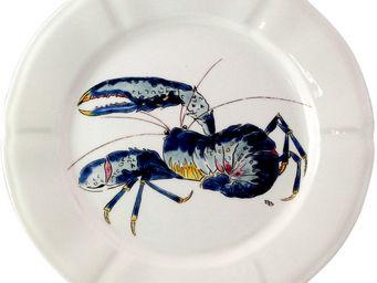 Gien - hors d'oeuvre homard - Assiette Plate