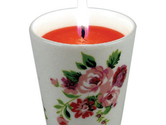 Interior's - bougeoir roses - Bougie Parfum�e