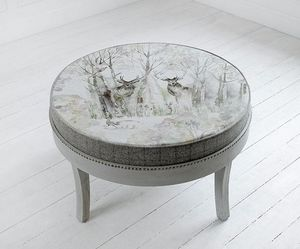 Voyage Maison - enchanted forest - Footstool