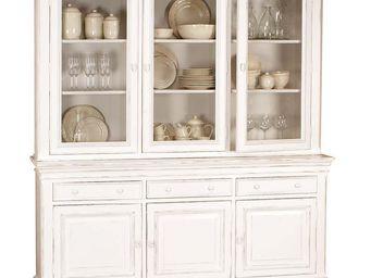Interior's - buffet 3 portes vitrées - Vaisselier
