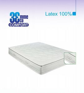 ECO CONFORT - matelas eco-confort 100% latex 7 zones 140 * 200 - Matelas En Latex