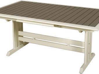 Les Jardins - table extensible hegoa ouverture automatique 150-2 - Table De Jardin � Rallonges