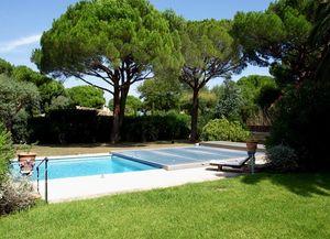 Sun Abris - abri piscine plat motorisé - Abri De Piscine Bas Motorisé