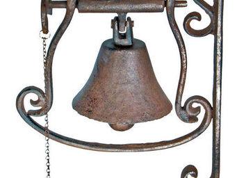 BEST FOR BOOTS - cloche de porte oiseau en fonte - Cloche D'extérieur