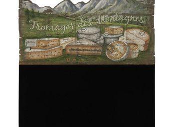 Interior's - menu fromages de montagne - Ardoise Murale