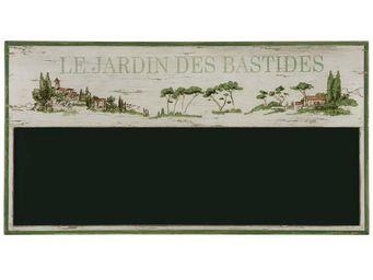 Interior's - menu jardin des bastides - Ardoise Murale