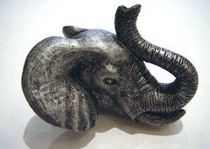L'Univers de La Poignee - elephant - Bouton De Meuble Et De Placard