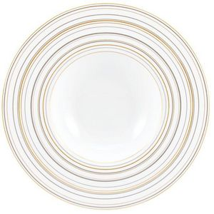 Raynaud - attraction or et platine - Assiette Creuse
