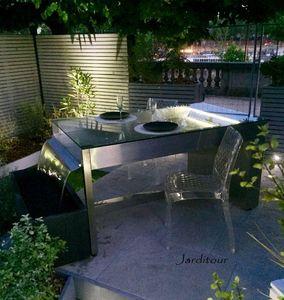JARDITOUR - 'table fontaine - Fontaine Centrale D'extérieur