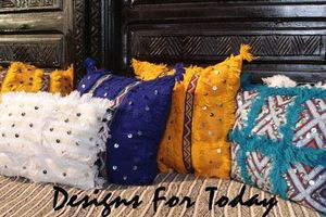 DESIGNS FOR TODAY -  - Coussin Rectangulaire