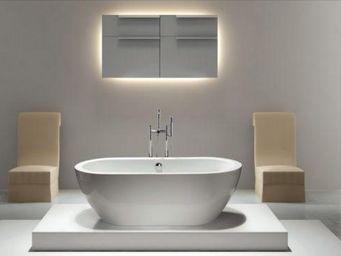UsiRama.com - baignoire �lot ovale 1.70m x 0.74m design simple - Baignoire Ilot