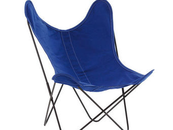 Airborne - coton outremer - Fauteuil