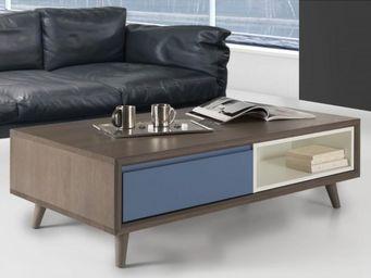 Ateliers De Langres - table basse tentation - Table Basse Rectangulaire