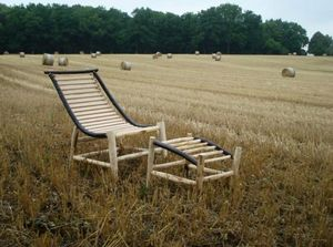 ALAIN DUPASQUIER -  - Chaise Longue De Jardin