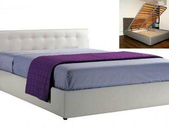 STYLEHOUSE  - lit coffre seyun haut de gamme avec tête de lit 14 - Lit Coffre