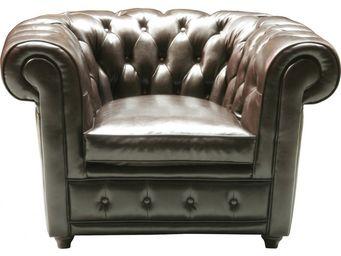 Kare Design - fauteuil club oxford nappalon - Fauteuil Chesterfield