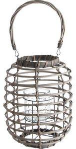 Aubry-Gaspard - lanterne en osier - Lanterne D'extérieur