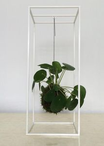 Muno - cage white - Porte Plantes