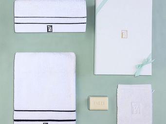 BAILET - coffret cadeau léman - linge de bain - - bleu mar - Set Linge De Toilette