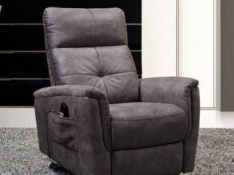 WHITE LABEL - fauteuil relax releveur électrique - athenee - l 2 - Fauteuil De Relaxation