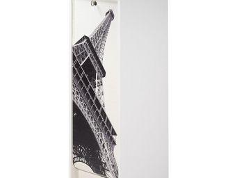 WHITE LABEL - classeur à rideaux blanc - curtain n°5 - l 38 x l - Armoire À Rideaux