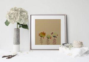 la Magie dans l'Image - print art 3 poppies - Tableau Décoratif