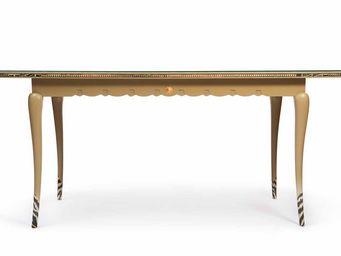 RELOADED DESIGN - zebra lace - unique piece - Table De Repas Rectangulaire