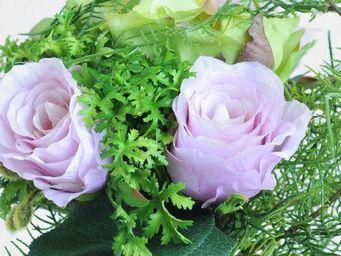 NestyHome - bouquet de roses - Fleur Artificielle