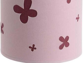 Amadeus - lampe colonne motif papillons - Lampe À Poser Enfant