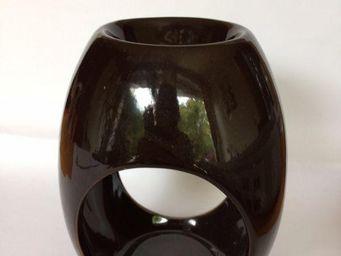 Drake - brûle parfum drake céramique brun - Brûle Parfum