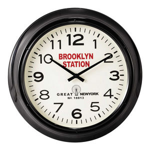 Maisons du monde - brooklyn station - Horloge Murale