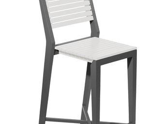 City Green - chaise haute de jardin portofino - 43.6 x 55 x 111 - Chaise Haute De Bar