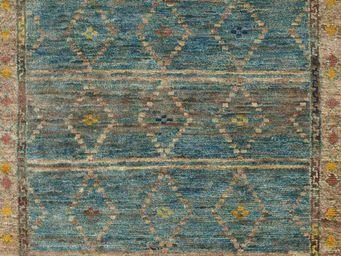 Bausol - gyanpur (bow blue) - Tapis Sur Mesure